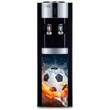 "Кулер для воды Ecotronic H1-LCE со шкафчиком + фото ""Футбол"""