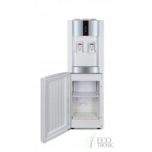 Кулер для воды Экочип V21-LF серебристо-белый с холодильником