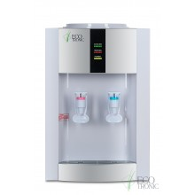 Кулер для воды Ecotronic H1-T бело-серебристый